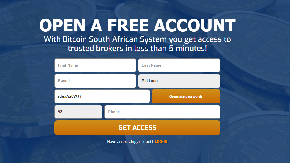 Bitcoin South African System